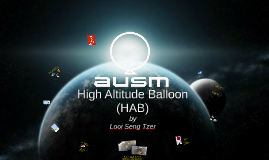 High Altitude Balloon (HAB)