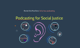 TOA Podcasting for Social Justice
