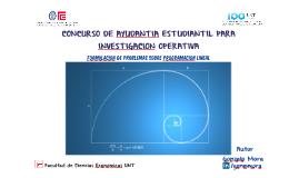 CONCURSO DE AYUDANTIA ESTUDIANTIL PARA