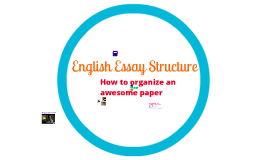Essay Structure / Colors Essay