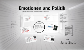 Copy of Emotionen und Politik