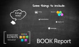 Copy of Reusable EDU Design: Book Report Brainstorm