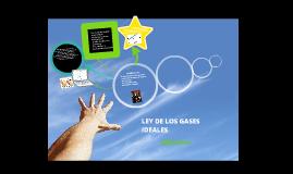 Copy of Ley de los gases ideales