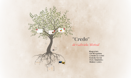 Copy of ''Credo''