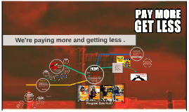 Pay More Get less Info Night.