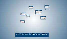 LEY GENERAL DE LOS ARCHIVOS