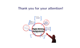 Copy of Night Writing Assignments