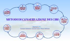 Metodi di conservazione dei cibi