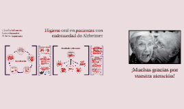 Higiene oral en pacientes con enfermedad de Alzheimer