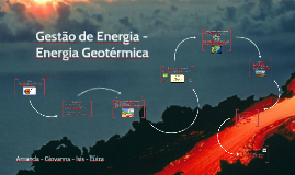Gestão de Energia - Energia Geotérmica