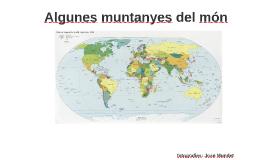 Algunes muntanyes del món (Joan Mundet)