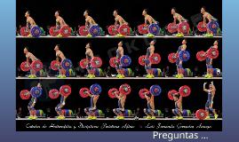 Técnica del levantamiento de pesas