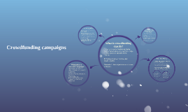 Copy of Crowdfunding campaigns