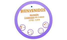 REUNIÓN DE COMIENZO DE CURSO 2016 -2017