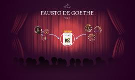 FAUSTO DE GOETHE
