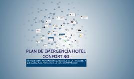 PLAN DE EMERGENCIA HOTEL CONFORT 80