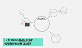 Copy of Copy of El Principio de la Proporcionalidad en Colombia