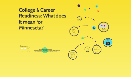 College & Career Readiness: What does it mean for Minnesota?