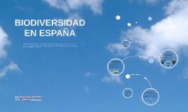 BIIODIVERSIDAD EN ESPAÑA