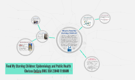 Feed My Starving Children: Epidemiology and Public Health