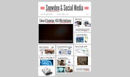 Snowden & Social Media