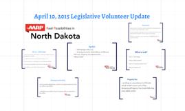 April 10 Legislative Volunteer Update
