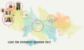 Lead for Diversity Reunion