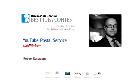 #DSES2014 Best Idea: YouTube Postal Service