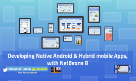 Developing Mobile Apps (Hybrid & Android) with NetBeans 8