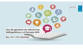 Uso de gestores de referencias bibliográficas y el formato A