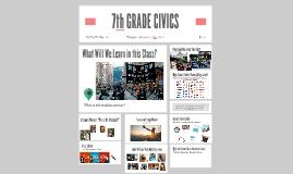7th GRADE CIVICS
