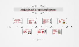 Nasjonsbygging i språk og litteratur