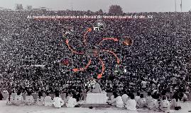Transformações sociais e culturais nos anos 50, 60 e 70
