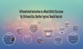 Differentiated Instruction in a Mixed Ability Classroom