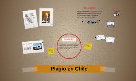 Plagio en Chile