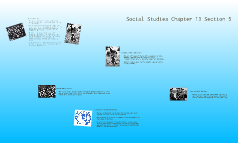 Social Studies Chapter 13 Section 5