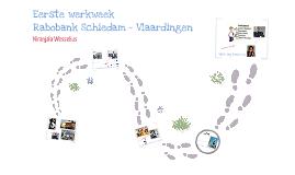 Eerste week Rabobank Schiedam - Vlaardingen