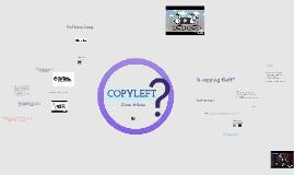 ITC501 Week 7 Copyleft