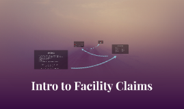 Intro. to Facility Claims