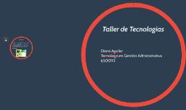Taller de Tecnologías