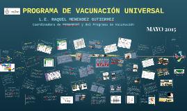 Copy of PROGRAMA DE VACUNACIÓN UNIVERSAL