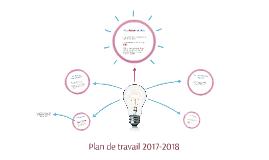Plan de travail 2017-2018
