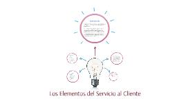 Los Elementos del Servicio al Cliente