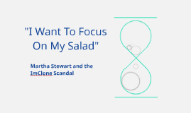"""I Just Want To Focus On My Salad"""