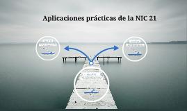 Copy of Aplicaciones prácticas de la NIC 21