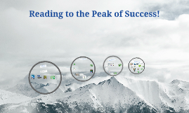 Reading to the Peak of Success!