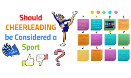 should cheerleading be considered a sport