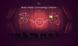 Music works- Contrasting Contexts
