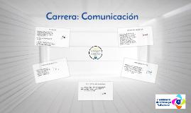 Carrera: Comunicación