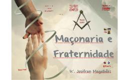 Maçonaria e Fraternidade